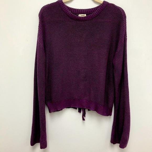 Adorable Purple Sweater